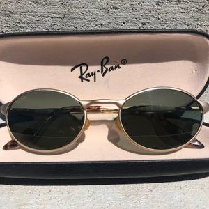 VINTAGE Ray-Ban W2840 Highstreet Metal Oval Sungla